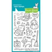 CRITTERS IN COSTUME Clear Stamp Set from Lawn Fawn