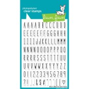 MILO'S ABC'S Clear Stamp Set from Lawn Fawn