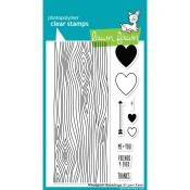 WOODGRAIN BACKDROPS Clear Stamp Set from Lawn Fawn
