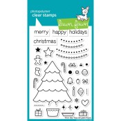 TRIM THE TREE Clear Stamp Set from Lawn Fawn