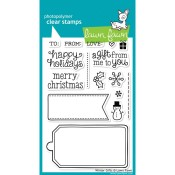 WINTER GIFTS Clear Stamp Set from Lawn Fawn