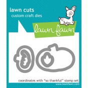 SO THANKFUL Lawn Cuts Custom Craft Dies from Lawn Fawn