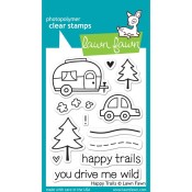 HAPPY TRAILS Clear Stamp Set from Lawn Fawn