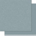 HIPPO POLKA 12x12 Scrapbook Paper from Lawn Fawn