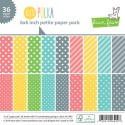 LET'S POLKA 6X6 Petite Paper Pack from Lawn Fawn