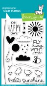 HELLO SUNSHINE Clear Stamp Set from Lawn Fawn