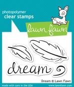 DREAM Clear Stamp Set from Lawn Fawn