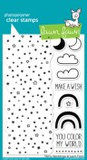 STARRY BACKDROPS Clear Stamp Set from Lawn Fawn