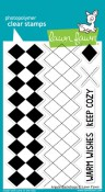ARGYLE BACKDROPS Clear Stamp Set from Lawn Fawn