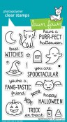 SPOOKTACULAR Clear Stamp Set from Lawn Fawn