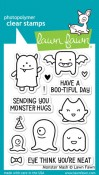 MONSTER MASH Clear Stamp Set from Lawn Fawn