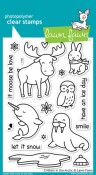 CRITTERS IN THE ARCTIC Clear Stamp Set from Lawn Fawn
