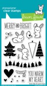 SNOW DAY Clear Stamp Set from Lawn Fawn
