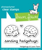 HEDGEHUGS Clear Stamp Set from Lawn Fawn