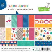 SWEATER WEATHER 6x6 PETITE PAPER PACK from Lawn Fawn