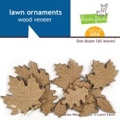 FALL LEAVES WOOD VENEER  from Lawn Fawn