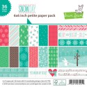 SNOW DAY 6x6 PETITE PAPER PACK from Lawn Fawn