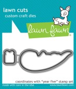 YEAR FIVE Lawn Cuts Die from Lawn Fawn