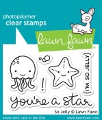 SO JELLY Clear Stamp Set from Lawn Fawn