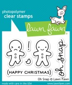 OH SNAP Clear Stamp Set from Lawn Fawn