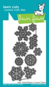 MINI SNOWFLAKES Lawn Cuts Die from Lawn Fawn