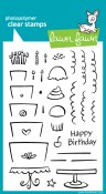 BAKE ME A CAKE Clear Stamp Set from Lawn Fawn