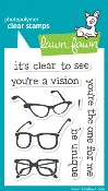 CLEAR TO SEE Clear Stamp Set from Lawn Fawn