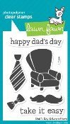 DAD'S DAY Clear Stamp Set from Lawn Fawn