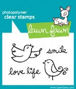FLY FREE Clear Stamp Set from Lawn Fawn