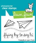FLYING BY Clear Stamp Set from Lawn Fawn