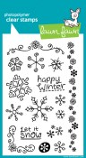 FROSTIES Clear Stamp Set from Lawn Fawn