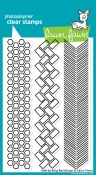 INTERLOCKING BACKDROPS Clear Stamp Set from Lawn Fawn Stamps