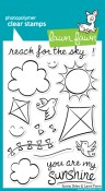 SUNNY SKIES Clear Stamp Set from Lawn Fawn