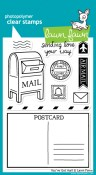 YOU'VE GOT MAIL Clear Stamp Set from Lawn Fawn