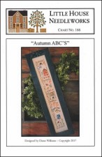AUTUMN ABC's Cross Stitch Pattern by Little House Needleworks