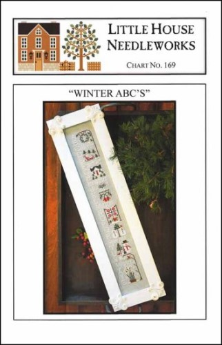 WINTER ABC's Cross Stitch Pattern by Little House Needleworks