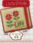 Jingles Series - LOVE Cross Stitch Pattern from Lizzie Kate
