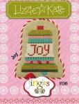 Jingles Series - JOY Cross Stitch Pattern from Lizzie Kate