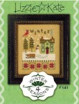 4 Seasons Series - WINTER Cross Stitch Pattern from Lizzie Kate