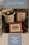 COFFEE TIME Cross Stitch Pattern from Lizzie Kate