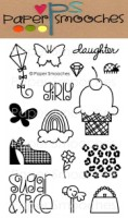 LITTLE LADY Clear Stamp Set Kismet Collection from Paper Smooches