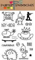 LITTLE FELLA Clear Stamp Set Kismet Collection from Paper Smooches