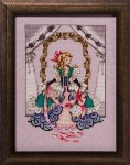 ALICE Cross Stitch Pattern by Nora Corbett from Mirabilia Designs