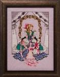 ALICE Cross Stitch Pattern by Nora Corbett from Mirabilia Designs
