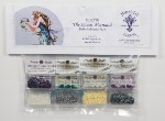 Mirabilia THE QUEEN MERMAID Mill Hill Embellishment Pack