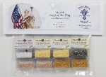 Mirabilia The Lady Of The Flag Mill Hill Embellishment Pack