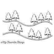 DIE-NAMICS CAMPY TREE LINES DIE SET from My Favorite Things MFT Stamps