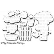 DIE-NAMICS SUNFLOWER SWEETHEART DIE SET Birdie Brown Designs from My Favorite Things MFT Stamps