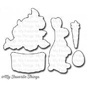 DIE-NAMICS EASTER BUNNY DIE SET Lisa Johnson Designs from My Favorite Things MFT Stamps