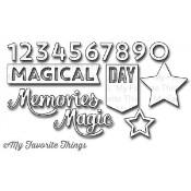 DIE-NAMICS MAGICAL MEMORIES DIE SET Laina Lamb Designs from My Favorite Things MFT Stamps